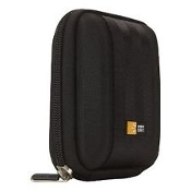 Case Logic QPB11 Black Camera Case with Belt Strap. Zippered. New. #63-2401474. 085854092937.