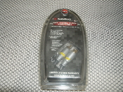 S-Video to RCA Video Cable. 15-3027. New. Brand: RadioShack, Radio Shack. 150-3027. Retail Blister Package. 040293641511. 6'. For Connecting: TV, DVD Player, A/V receiver, Satellite Receiver and Cable Box. 24K Gold-Plated Connectors.