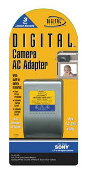 Sony Digital Concepts CH-980 Sony Digital Camera Video AC Adapter with Built-in Safety Short circuct protection. Automatic Thermal Cut-off. Automatic overload cut-off. AC Adapter. New