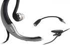 Jabra C500 2.5mm Around Ear Hands-Free Headset + 3.5mm Adapter. New. OEM. Garment Clip. Mute Switch.