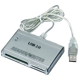 Inland USB 2.0 External Card Reader/Writer. Item No: 08310, 012405083106.