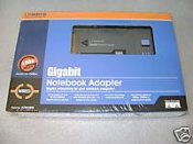 Lynksys PCM1000 Gigabit Notebook Adapter 10/100/1000MBPS. 745883562589