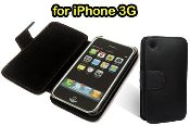 Leather Wallet Skin Case Cover for Apple IPHONE 3G 2G. 100% brand new. Custom made for iPhone 2G and 3G