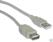 USB 2.0 A Male to Female Extension Cable 3FT New in sealed plastic bag. TID 60000467