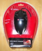 Labtec 3 Button Mouse. PS/2. New in Retail Package. 911543-0403