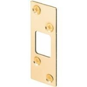 Deadbolt Strike. Brass plated. Model: E-2235. UPC: 049793022356