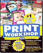 ValuSoft Print Workshop 2008. DVD ROM PC DVD. 755142714222. Print Workshop's 2008 powerful tools and intuitive features make it easier than ever to create thousands of professional looking projects!