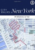 Chronicle Books City Walks: New York, NYC. 50 Adventures on Foot. New in retail package. Skip the dull tour guides, ditch those unruly maps and experience New York City, NYC like a native. 90000, UPC: 765145104258. ISBN: 0-8118-3844-7. 9780811838443.