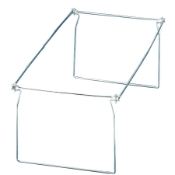 Officemate 98630 Hanging Folder Frame. Letter Size. HF-LT. New. 6 Frames. Heavy Duty, Coated steel construction. Quick and easy assembly. Notched ends easily snap off for desired lenght.