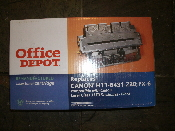 Office Depot FX-6. Black Toner Cartridge. Replaces Canon H11-6431-220. New. Compatible with Canon Laser Class 3170 Facsimiles. Canon Laser Class 3170 Facsimiles Fax. Canon Fax L 1000, Laser Class 3170, 3170 MS, 3175, 3175 MS.
