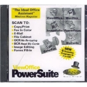 ViewOffice PowerSuite The Ideal Office Assistant. 6 Scanning Programs in one CD: ViewOffice Desktop, ImageFolio, ColorFax, Wordlinx OCR, PowerForm, Business Card Reader. 743390111955.