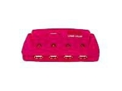 Esselte Curtis Connecrtions USB 4-Port Hub. Pink. UPC: 048447254969. 6' USB cable is included. PC and Mac. PC096S