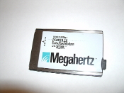 Toshiba Megahertz XJ1144 PCMCIA 2.0 Data Fax Modem with XJack. There are at 5 different variations of the XJ1144 PCMCIA modem with XJack. Refurbished.