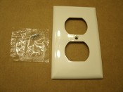 2 Outlet Wall Plate With Screws. White. Q2132W. 2132W UPC: 032664155406. New. Copper Wire Devices.