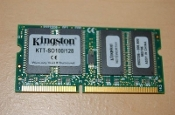 Kingston KTT SO100/128 PC100 128MB SDRAM SODIMM. Refurbished. Pulled from a working laptop.