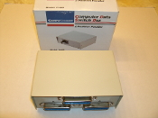 CompuCessory 11400 Two Position Parallel Computer Data Switch Box. New.