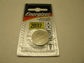Energizer 2032 Battery. New. ECR2032BP. UPC: 039800088635. CR2032.