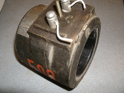 GE Current Transformer Type JAK-0. Cat: 750X 33G304. Ratio: 500:5 AMP. Bil 10 KV, 50-60 HZ. Used.