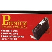 Canon BJC-8200, S800, S820, S900 Black Compatible Cartridge. New. PBCI-6BK. Premium Imaging Products Brand. Quality Assured Firm. ISO 9001.