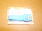 Static Tech WB-1004. Wrist Band Adjustable Elastic 4mm Anti-Static Strap. Blue. Strap Only. New. Retail Package.