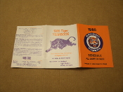 Detroit Tigers 1986 Radio Schedule. Like New. All Games on Radio. Selected TV Dates Subject To Change. Media > Books > Non-Fiction > Technology Books