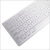 "Apple MacBook Pro 13.3"" White Silicone Keyboard Cover Skin. New."