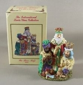 "The Three Magi. SC19, 757917019006. Spain. The International Santa Claus Collection. New. 4 1/2"" H X 3"" W."