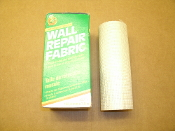 "Manco Wall Self Adhesive Fiberglass Repair Fabric. DWR-1. 075353093481. New. Retail. Stops Cracks and Patches Holes. Easy To Apply on Drywall or Plaster. Made in the USA. 6"" X 25'. HECO EN EE. UU. 152.4 mm X 7.6 m."