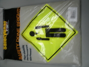 SafetyGear 302-MVGZ4PLY/XL ANSI/ISEA Class 2 Mesh Fabric Vest with Zipper (yellow, x-large) 616314072437