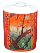 Vincent Van Gogh Incense Vase. 44T545. New. Flowering Plum Tree. CIB. H. The Plum Tree Sept-Oct 1887. (Did you know that Vincent Van Gogh's Older Brother's Name was Vincent Van Gogh? He Died Before He Was Born, and Renaming Him Was Common.)