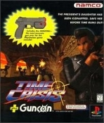 Namco Time Crisis Plus Gun. Used. 722674020695. SLUH-00043. Teen Ages 13+. Game Plus Gun. The President's Daughter Has Been Kidnapped. Save Her Before Time Runs Out! 722674020749.
