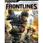 Frontlines Fuel of War. Microsoft XBOX 360 and Windows PC. 752073009137. New. 0744009138. 9780744009132. 51699. Teen. 16+. Written by: Michael Lummis. Official Strategy Guide. Bradygames.