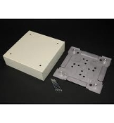Wiremold V3028 Ivory Utility Box. New. Surface Metal Raceway Fitting. 786776105407. (21) 0 31 10540 0085 6789. 35031.