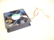 "Sunon KD1209PTS2 Case Fan. Refurbished. 3 1/2"" X 3 1/2"". It can be used in Dell, HP, Compaq and other desktop brands."