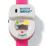PottyTime PW998 PNK Potty Watch. New. Potty Time. Pink. Recommended by Pediatricians. 851865003022. The Toilet Training Timer That Makes Potty Training Fun and Easy. Lets the Little One Know When It's Time to Go. 18+ Mo.