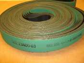 Habasit America 3030-03-000-8511 Belt. Siemens 502-23400-03. OCR and Tag Scanner Transport. 5405mm. New. Mail Side. BI-Directional. Green and Black. 4500135973-404. 50223340003. 873076.