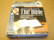James Earl Jones Reads The Bible. CA-190. Used. 1591503582. 9781591503583. New Testament KJU. Over 19 Hours on 16 Audio CDs. 53495. Topics Entertainment. 9781591503583.