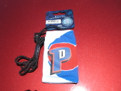 "Detroit Pistons Cellphone Pouch with 18"" Strap. NBAICSOC01DP. 0840176025762. New. 840176025762. NBA Official Licensed. Retail Package. NBAlCSOC01DP."