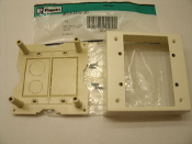 Panduit JBX3510IW-2G Double Gang Box and Cover For Type L and C Panway Railways. New. 00074983353989. QC# 60401330F. Pan-Way.
