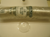 Kal-Clear DLKC16/24 100 Clear Plastic Dome Lids Per Bag. New. 049202003327. Use with KC16S & KC24 KAL-CLEAR CUPS. 6 Tubes.
