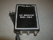 Tru-Spec UHF Modulator Model USM-8. 300MHZ - 3GHZ. Refurbished.
