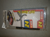 Jeff Gordon. #24. Notepad and Pen. New. NASCAR Notepad Set. 100 Sheets. Martin Design. 44805.