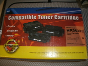 HP C9701A Compatible Toner Cartridge, Cyan. New. HP2500 HP 2500 Series.