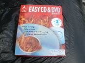 Roxio Easy CD and DVD Burning. New. P/N 217600. Rev. B. 815227003730. Faster Burning. Safer Back-up. One Click CDand DVD Copying. Instant Music CD Mixes. 2145121. 4240424. Gracenote. Algorithmix.