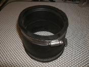 "Mission B602 Coupler. 3-2. Used. MR56-44. 4"" Cl/PL to 4"" Cl/PL. UPC. SBCCI BOCA."