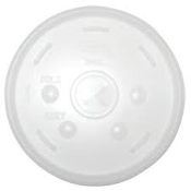Dart Solo Conex 20SL Translucent Lid with Straw Slotted Lids. 1000 Per Case. For 20 OZ Cups. DCC20SL, DCC 20SL.