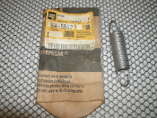 "Caterpillar 6W-5817 Spring. New. CAT 6W-5817 Extension Spring. 6W5817. L: 3 1/2"", Machine Hook. 050193472. AA."