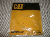 Caterpillar 8N2496 Gasket. New. CAT 8N2496 Gasket. 1-8N2496-2944. Asbestos Free, A/F. 10 Bolt Holes.