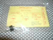"Avibank AAT916-1024 Kit. 10-24 Thread. New. 9/32"" Hole Required. AAT-916-1024."