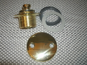 Gerber 08-000B Bath Drain Kit. New. High Quality Brass. 285832. Missing Brass Screws.